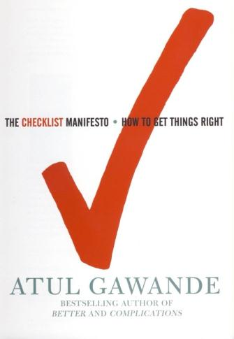 The checklist manifesto book cover