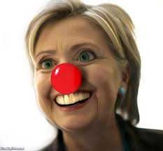 Hillary clown nose pic