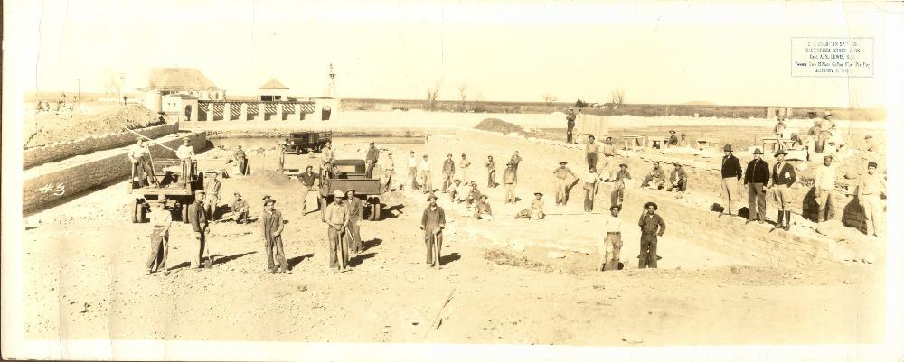Balmorhea Springs construction
