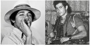 obama-smoking-pot-and-bibi-as-commando