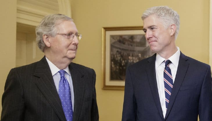 Gorsuch McConnell
