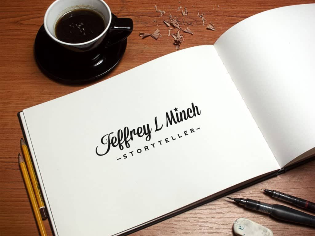 Mockup with book